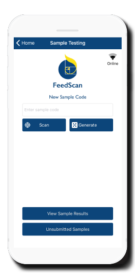 FeedScan Login Page
